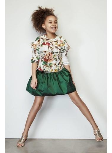 Lia Lea Kız Çocuk Yeşil Etek Yeşil